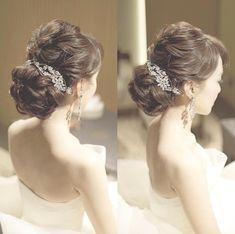 Wedding Hairstyles: A 7 Step Plan For Perfect Hair Older Women Hairstyles, Elegant Hairstyles, Bride Hairstyles, Pretty Hairstyles, Short Hairstyles, Hairstyles Videos, Bridal Hairdo, Hairdo Wedding, Short Hair Styles Easy