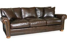 Lee Industries L3227-03 Leather Sofa