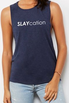 gift ideas, gifts, Christmas, Christmas gifts, funny shirts, funny, funny quotes, funny pictures, funny memes, funny texts, winter outfits, winter outfits causal,Slaycation shirt, Slay all day Tshirt Grey Unisex- slaycation tee, Funny Shirt, Slay Shirt, Slay all Day Shirt,Workout Shirt,Yoga shirt #clothing #women #tank #birthday #slaycationshirt #funnyshirt #slayshirt #workoutshirt #giftshirt Cute Shirts, Funny Shirts, Runners Outfit, Business Sales, Athleisure Wear, Celebrity Look, Graphic Shirts, Retail Therapy, Fashion 2018