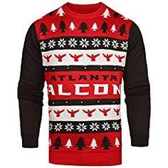 3ec65de5cfa NFL Atlanta Falcons Light-Up One Too Many Ugly Sweater
