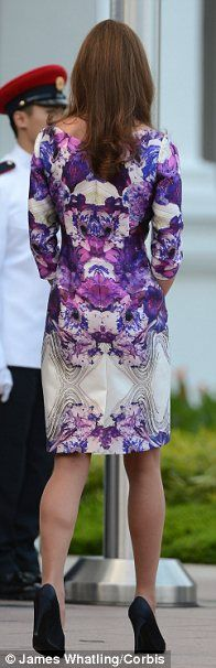 The Duchess of Cambridge wows in edgy Prabal Gurung dress, putting U.S. label on the global fashion map    http://www.dailymail.co.uk/femail/article-2201634/The-Duchess-Cambridge-wows-edgy-Prabal-Gurung-dress-putting-U-S-label-global-fashion-map.html#