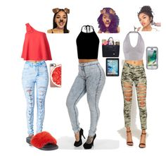 """""""Summer vibes"""" by officially-mya ❤ liked on Polyvore featuring WearAll, Saloni, Casetify, Givenchy, Griffin and OtterBox"""