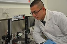 Swinburne University researcher Han Lin developed a new supercapacitor using sheets of graphene created on a 3D printer, and it charges faster and lasts longer than traditional batteries.
