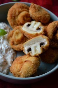 Fried mushrooms as dinner or snack in between. - Fried mushrooms as dinner or snack in between. Smoked Meat Recipes, Sausage Recipes, Italian Recipes, Vegetarian Recipes, Fried Mushrooms, Stuffed Mushrooms, Stuffed Peppers, Best Mushroom Recipe, Mushroom Recipes