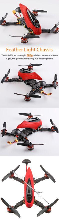 STORM Racing Drone (RTF / Ninja 250) http://www.helipal.com/storm-racing-drone-rtf-ninja-250.html (Drone Caseiro)
