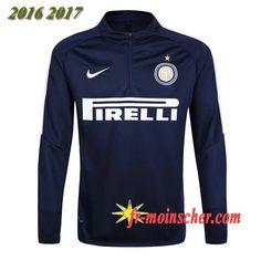 Le Nouveau:Sweatshirt Training de Inter Milan Noir 2016 2017