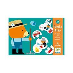Puzzle trio - povolání