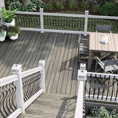Read more about what color composite decking will work best for your home and if your deck color should match your home - DecksDirect
