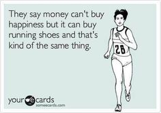 I used to have a shoe fetish - stilettos, wedges, you name it. I trade it for another type of shoe fetish - Asics Kinvara, Saucony Hurricane, Brooks Pure, you name it.