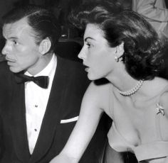 Sinatra (at thirty-seven) and Gardner (at twenty-nine) at the Flamingo in 1952. • Gardner died of pneumonia at her London home in 1990 at the age of 67. Sinatra passed away in West Hollywood in 1998, aged 82, after suffering a heart attack