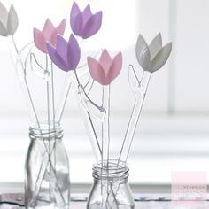 Glass Tulips
