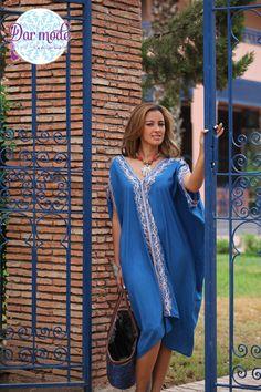 Kaftan Souad・Moroccan Blue Palace lookbook