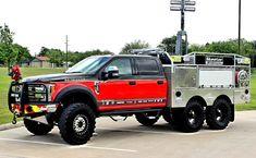 Cool Trucks, Fire Trucks, Pickup Trucks, Cool Cars, Brush Truck, Ford F550, Firefighter Gear, Fire Apparatus, Emergency Vehicles