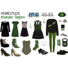 """Homestuck Fashion: Meulin Leijon"" by khainsaw on Polyvore"