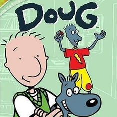 Doug TV Series Nickelodeon Really enjoyed this series with Doug Funnie, Skeeter Valentine, Patti Mayonnaise and dog Porkchop. 90s Tv Shows, Kids Shows, 90s Childhood, My Childhood Memories, Kids Tv, 90s Kids, Oldies But Goodies, Doug Funnie, Retro