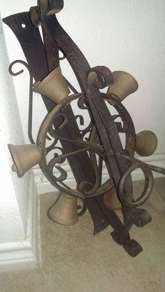 Antique Crank Cast Iron Door Bells coupon sale by oldwallpaper