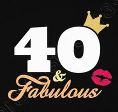 40th Birthday, Birthday Wishes, Happy Birthday, 40 Y Fabuloso, Female Motivation, Happy 40th, Henna, Backgrounds, Silhouette
