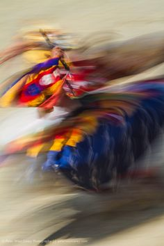 # creative motion blur# Spinning Colors, Paro, Bhutan by Peter West Carey on 500px