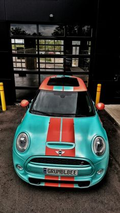 2015 MINI Cooper S F56 in Tiffany Blue