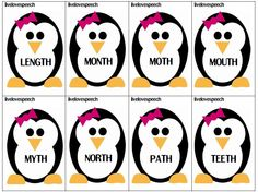 Winter Articulation- - Pinned by @PediaStaff – Please Visit http://ht.ly/63sNt for all our pediatric therapy pins