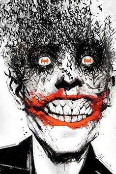 The Joker! This might just be one of the coolest pics I've ever seen!