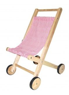 WOODEN COLLECTIVE Doll Stroller