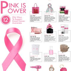 The Zoe Report's 12 Chic ways to Support Breast Cancer Awareness featuring CHAN LUU  http://www.chanluu.com/womens-jewelry/chan-luu-for-breastcancer-org