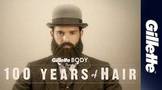 """""""100 Years of Hair"""" Ad for Gillette BODY Razor - currently with over 7.8 million views!"""