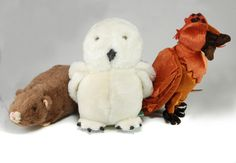 Harry Potter – Plush – Pet Assortment (Hedwig, Fawkes, Scabbers)