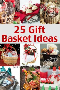 25 Easy, Inexpensive and Tasteful Gift Basket Ideas and Recipes