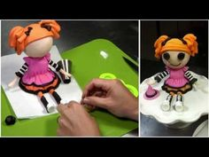 ▶ Lalaloopsy- Halloween tutorial (How-to)-Mixing-it-up! - YouTube