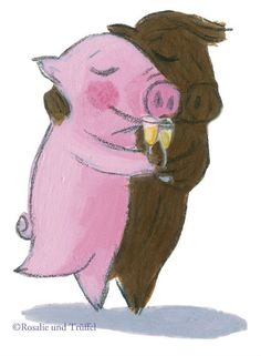 Fine wine , fine swine , both get better with time . Pig Illustration, Illustrations, Pig Drawing, Fine Wine, Pigs, Happy Birthday, Thankful, Teddy Bear, Lighthouses