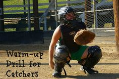 In today's blog post, we're going to talk about a great warm-up drill that you, as a softball coach, can do with your catcher to get her ready for practice