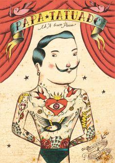 Papa Tatuado by Sergio Mora