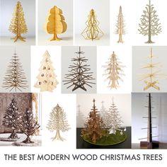 flat pack felt/ plywood Christmas tree inspiration