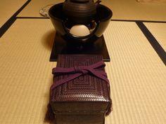 goshokago set for shikishidate procedure. position at the beginning