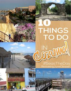 things to do in cozumel