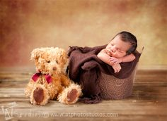 Newborn Baby Boy Nathaniel's Photography Session in Glendale CA | A.T. Studios Blog