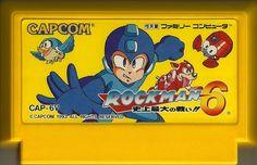 Rockman 6  #Nintendo #Famicom #Rockman #Megaman #Capcom #RetroGaming #Retro #Gaming
