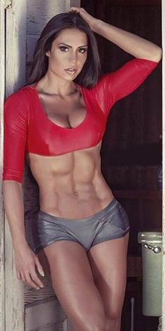 SEXY RIPPED ABS & MUSCULAR GODDESS BODY of Brazilian samba dancer & #Fitness Model Gracyanne Barbosa : if you LOVE Health, #Fitspo & Female Bodybuilding - you'll LOVE the #Inspirational designs at CageCult Fashion: http://cagecult.com/mma