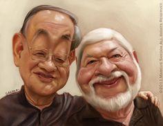 Grandpa and buddy