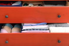 Organize your dresser drawers and declutter