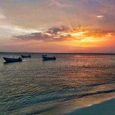 Sunset in paradise   #beach #sunset #cute #filters #snapseed #boat #colors #ig_dominicanrepublic #dominicanrepublic #bahiadelasaguilas #Bahia16