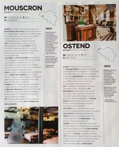 Mouscron & Ostend guide