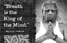 """""""Two principal practices, yogasana and pranayama, help enormously with stress, but yoga offers a wider solution to stress. The cure to combat the three Ss - stress, strain and speed - can be found in three Ws - the work of devoted practice, the wisdom that comes of understanding the self and the world, and worship because ultimately surrendering what we cannot control allows the ego to relax and lose the anxiety of its own infinitesimally small self in the infinitude of the divine."""" ~BKS…"""