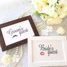 受付サインはこちらを使用 シンプルでかわいい♡ #結婚式 #受付サイン #シンプル