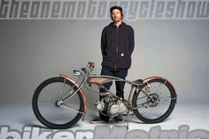 motorized bicycle chopper | jared - holdiay customs
