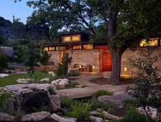 Mill Springs Ranch provides a water's edge retreat