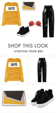 """""""Outfit random"""" by thebestmery on Polyvore featuring Bella Freud, Philosophy di Lorenzo Serafini, âme moi, WithChic, ZeroUV, gucci e glitterlips"""