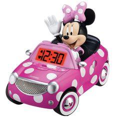 """Minnie Mouse Bow-tique Alarm Clock - eKids - Toys """"R"""" Us"""